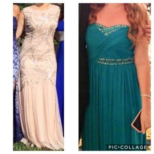 2 prom dresses!